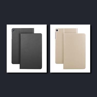 Schutzhülle TPU Rückseite Hülle Abdeckung Tablet Support Standhalter für Samsung T510 / 515 Schwarz
