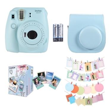 Fujifilm Instax Mini 9 Sofortbildkamera-Set