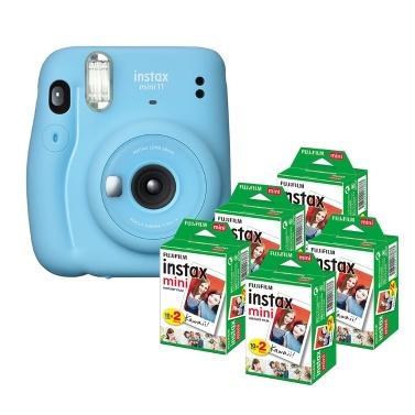 Fujifilm instax mini 11 Sofortbildkamera Filmkamera Selfie-Modus zur automatischen Belichtungssteuerung