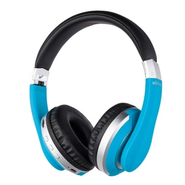 EK-MH7 Wireless BT Headphone Foldable Portable Stereo Sports Gaming TF/FM/Wired Mode Headset for Phone/Laptop/PC Gold