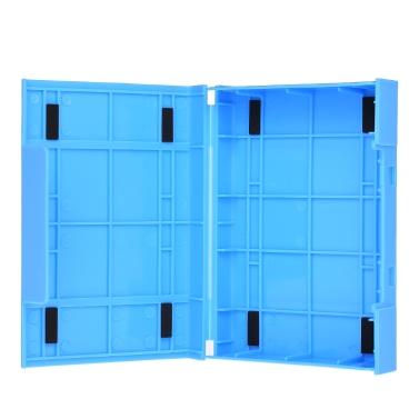 ORICO 3,5-Zoll-Festplattengehäuse Schutzhülle SDD Aufbewahrungskoffer HDD Antistatik-Tragetasche Blau