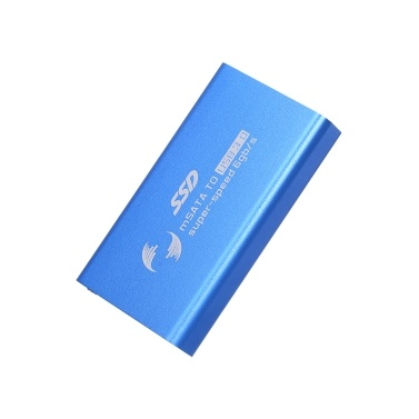 mSATA zu USB3.0-Gehäuse Konverter-Adapter Externes Gehäuse