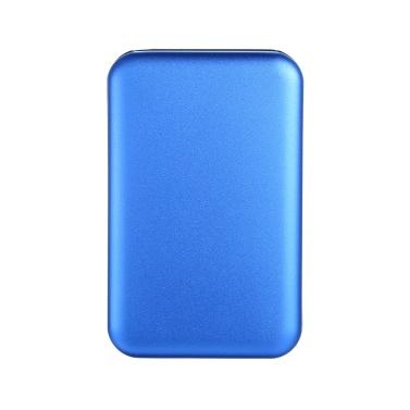 2,5-Zoll-Festplattengehäuse SATA-Festplattenadapter für USB 2.0-Konverter Externes Gehäuse Festplattenlaufwerk Externes Festplattengehäuse (blau)