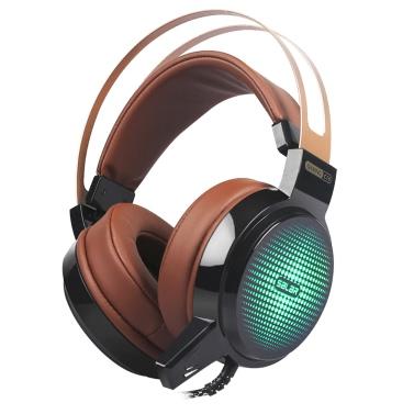 Salar C13 3.5mm Over-Ear Stereo Headset for PS3 PS4 Desktop PC Laptop