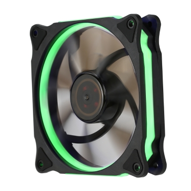 Segotep 120mm Silent Computer Case Cooler Colling Fan LED Lights High Airflow 3P+D