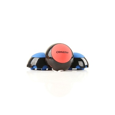OImaster Laptop Stand Cooler Ball Anti-slip Silicone Pad Heat Dissipation Ball Portable PC Stand (Blue)