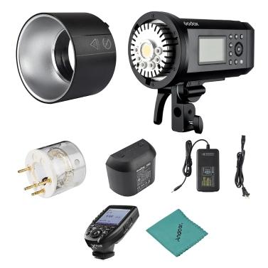 Godox AD600Pro 600Ws TTL GN87 1 / 8000s HSS Außenblitzlicht + 28,8V / 2600mAh Lithium-Batterie + Xpro-N Blitzauslöser für Nikon-Serie-Kamera