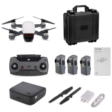 DJI Spark 12MP 1080P Wifi FPV RC Quadcopter Combo - RTF