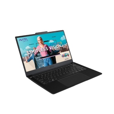 AVITA LIBER V 14 inch Laptop i5-10210U/8GB DDR4 Memory/512GB SSD with 3.7mm Ultra-narrow Bezel Fingerprint Unlock Black EU Plug