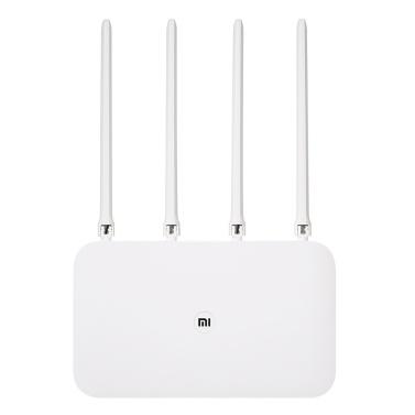 Xiaomi Mi Wifi Router 4 High-Speed-Dual-Band 2,4 / 5 GHz Gigabit Wireless Router -US Version Weiß