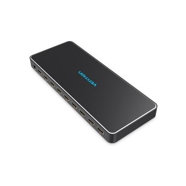 Vention HDMI Splitter 1 × 8 Anschlüsse 4K 3D HD Bildqualität 1 In 8 Out Switcher 8 Anschlüsse HDMI TV Shop Werbung Display Multimedia Lehre Dedicated US-Stecker