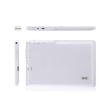 Q88 7-Zoll-Quad-Core-Tablet Business-Tablet mit Android4.4-System 1024 * 600 Auflösung 512 MB + 8 GB schwarzer EU-Stecker