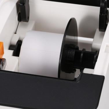 Multifunktionaler Thermodrucker Etikettendrucker Empfangsdrucker Drahtloser BT Mobiler Drucker für Supermarkt Restaurant EU Plug