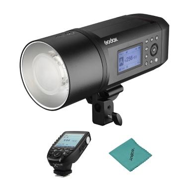 Godox AD600Pro 600Ws TTL GN87 1/8000 s HSS Außen Blitzlicht + 28,8 V / 2600 mAh Wiederaufladbare Lithium-Batterie + Xpro-F Blitzauslöser