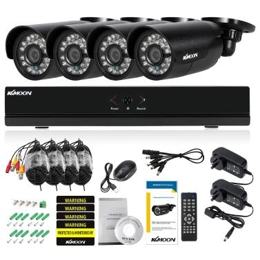 KKmoon 4CH Kanal Volles AHD 1080N / 720P Sicherheitssystem