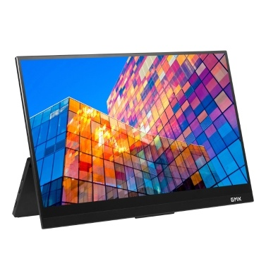 GMK KD1 14inch Monitor 4K Portable Touchscreen Monitor 3840*2160 Resolution 10-point Touch Capacitive Touch Screen EU Plug