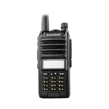 BAOFENG A58S Portable Two-way Radio Handheld Walkie Talkie FM Transceiver 8W Power Long Distance Flashlight EU Plug