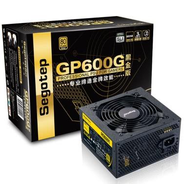 Segotep 500W GP600G ATX PC Computer Netzteil