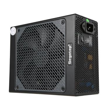 Segotep Gaming 80 Plus Platinum KL-750W Netzteil mit geräuscharmer Lüfter- und automatischer Lüftergeschwindigkeitssteuerung