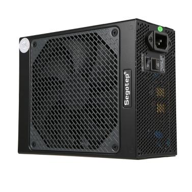 Segotep Gaming 80 Plus Platinum KL-1080W Netzteil mit geräuscharmer Lüfter- und automatischer Lüftergeschwindigkeitssteuerung