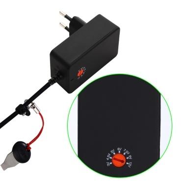 KKMOON DYF-S-A018-01A Upgrade Einstellbar Universal-Ladegerät Netzteil Switch Power AC DC 3V bis 12V