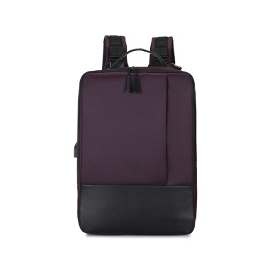 Multifunktions-Mode-Rucksack große Kapazität Laptop-Rucksack-Computer-Tasche mit USB-Ladeanschluss passt 15,6 Zoll Laptop