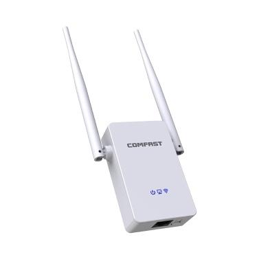 COMFAST Dualband-WLAN-Extender 1200 MBit / s WLAN-Repeater WLAN-Router AP-Modus 2 Hochleistungsantennen
