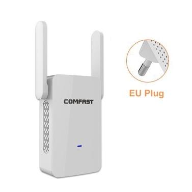 COMFAST WiFi Range Extender 1200 Mbit / s 360-Grad-Abdeckung Externe Antenne Signalverstärker-Antenne Drahtloser WiFi-Repeater