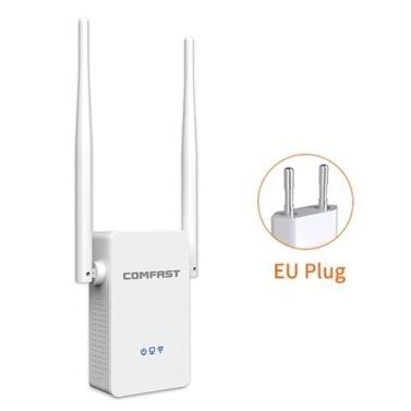 COMFAST WiFi Extensor de Alcance 1200 Mbps Dual Band WIFI Extensor de Sinal Repetidor Sem Fio de Alta Velocidade