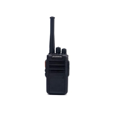 BAOFENG BF-M4 UHF FM Transceiver 5W Handheld Interphone 400-470MHz 16CH Two Way Portable Radio Support Long Communication Range Long Standby Time Clear Voice Walkie Talkie Black EU Plug