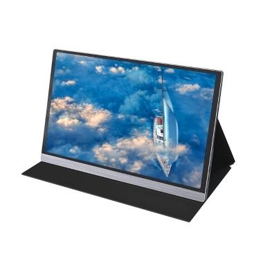 AOSIMAN Portable 15.6inch 4K LCD Screen 47% NSTC 16.7 Million Colors Gaming Monitor Portable  Display IPS Panel Fast Response EU Plug