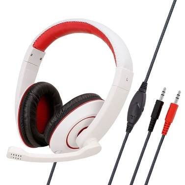 SY722MV Gaming Headset with Adjustable Headbeam Lightweight Headphone for PC/MAC/CD/RECORDING/GAME