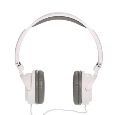 Tragbare Over-Ear einstellbarer Haltebügel Wired 3,5 mm Kopfhörer Stereo Headset faltbare Kopfhörer für iPhone iPad iPod-PC Computer-Smartphone