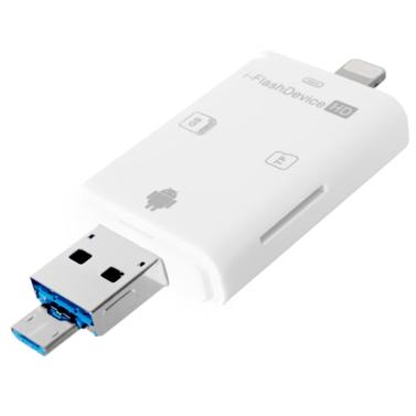 OTG Multifunktions 3 in 1 USB + SD + TF Kartenleser Handy Speichererweiterung für Android