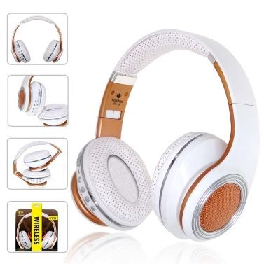 FE-19 Wireless Kopfhörer Stereo Active Noise Cancelling Kopfhörer Unterstützung TF-Karte und FM-Radio mit Mikrofon