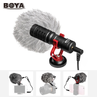 4 € de réduction pour Mini Microphone Cardioïde BOYA BY-MM1 seulement € 23,23