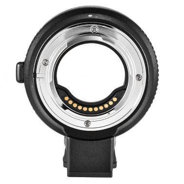 Commitite CM-AEF-MFT Objektivadapter Unterstützung AF Autofokus IS Stabilisierung Exif Getriebe Elektronische Blendensteuerung für EF / EF-S Objektiv bis M4 / 3 Kamera für Panasonic GH3 GH4 GX7 GF5 GF6 GX1 GM für Olympus PL5 PL6 OM-D E-M5 E-M1