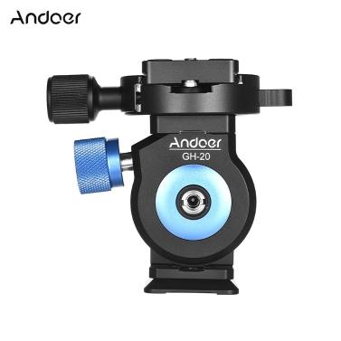 Andoer GH-20 Tilt Head CNC  Monopod Ball Head