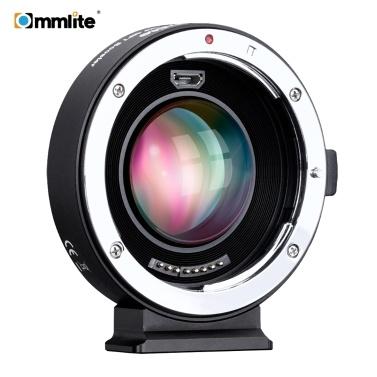 35% OFF Commlite AEF-MFT Booster Auto Focus AF Lens Mount Adapter,limited offer $149.99