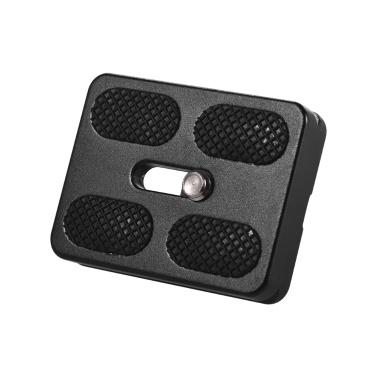 50 * 38 mm Aluminiumlegierung Universal-Schnellwechselplatte D-50T QR-Platte