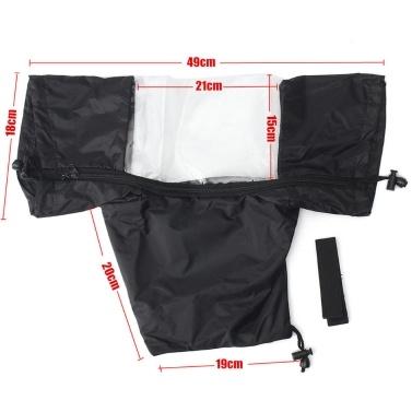 Waterproof Camera Rain Cover Coat Bag Protector Rainproof Raincoat Against Dust for Canon Nikon DSLR Cameras