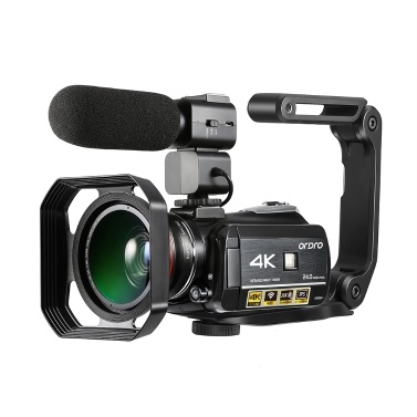 ORDRO AC3 4K WiFi Digital Video Camera Camcorder