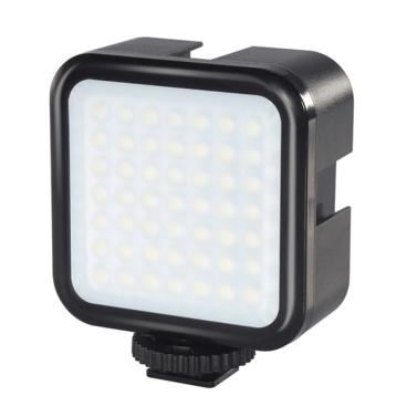 PULUZ 3W Camera Fill Light 49 Lamp Beads Dimmable Brightness Portable Video Making Light