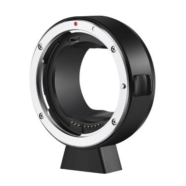 ATLSON EF-L Camera Lens Adapter Ring Auto Focusing EXIF Transmission Anti-shaking