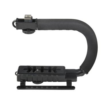 U-Grip Camcorder Stabilizer Handle DSLR Handheld Gimbal C-Shape Video Stabilizer