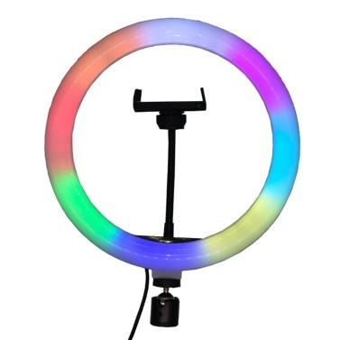 10 Inch RGB Ring Light Photography Lamp Beauty Light