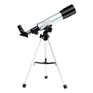 Astronomical Telescope Compact Portable Telescope of 90X Magnification with Adjustable Tripod for Kids Beginners