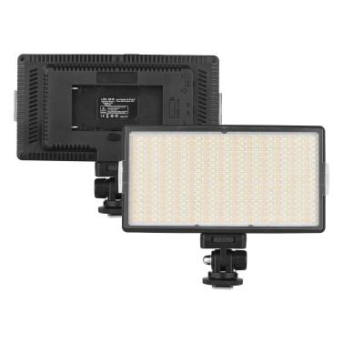 Andoer LED-416 LED-Videoleuchte Professionelles Kamera-Fotolicht