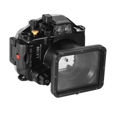 MEIKON wasserdichte Kamera Tauchen Gehäuse Schutzhülle