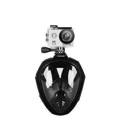 Full Face abnehmbare trockene Schnorcheln Tauchen Maske Sommer Schwimmen Training Scuba Anti-Fog unter Wasser Snokel